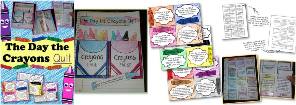 10 creative activities to go with the book the day the crayons quit